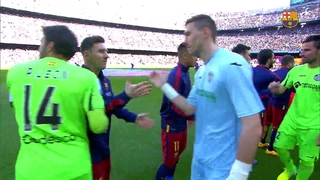 FC Barcelona 6 – Getafe CF 0 (1 minuto)