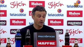 """Luis Enrique: """"Poder contar con Leo es un privilegio"""""""