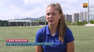 Lieke Martens on her amazing start to her Barça career