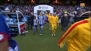 Deportivo de La Coruña 0 - FC Barcelona 8 (3 minutos)