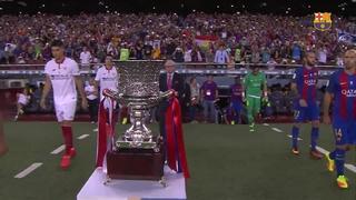 FC Barcelona 3 – Sevilla FC 0 (1 minute)