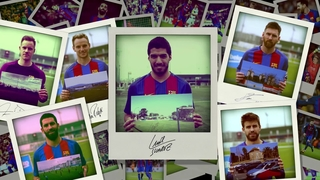 Luis Suárez shares his favourite memories with Beko!