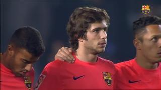 Elx 0 - FC Barcelona 4 (5 minuts)