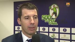 El Barça Lassa estrenará el proyecto '500 Superfinal'