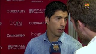 Declaracions Luis Suárez Díaz post partit Sevilla - Barça (2-1) J07 Lliga 2015/2016