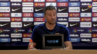 No easy game, says Luis Enrique
