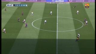 FC Barcelona 2 - Valencia CF 0 (2 minutes)