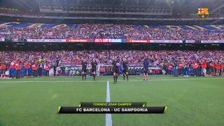 FC Barcelona 3 - Sampdoria 2