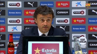 Luis Enrique happy title destination still in their own hands
