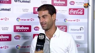 Les sensacions de Gerard López després d'aconseguir la primera victòria de la temporada en el debut a Valladolid