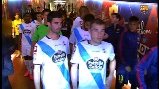 FC Barcelona 2 - Deportivo de la Coruña 2