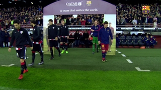 FC Barcelona 3 – Athletic Club 1 (3 minutes)