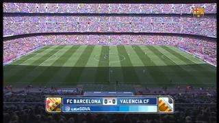 FC Barcelona 2 - Valencia 0 (5 minutes)
