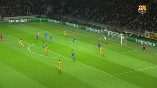 Bate Boríssov 0 - FC Barcelona 2 (1 minut)