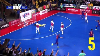FCB Futsal: The best goals Barça Lassa (November 2016/2017)