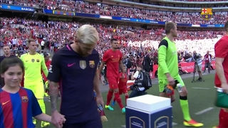 Liverpool 4 - FC Barcelona 0 (1 minute)