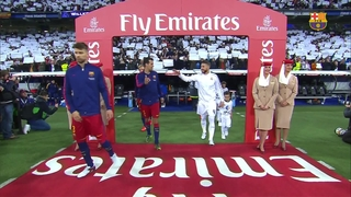 Real Madrid CF 0 – FC Barcelona 4 (3 minutos)