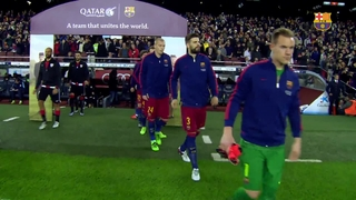 FC Barcelona 3 – Athletic Club 1 (1 minute)