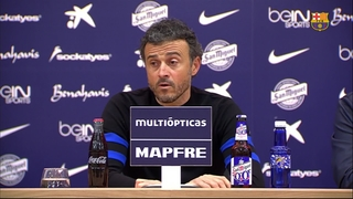 Luis Enrique happy to beat a tough rival