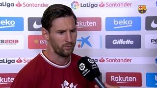 """Lionel Messi: """"No tenim ansietat""""."""