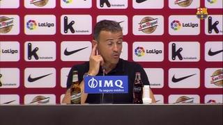 """Luis Enrique: """"Me ha gustado la actitud del equipo"""""""