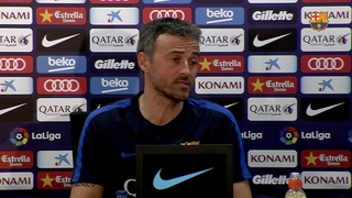 Luis Enrique wary of 'confident' Málaga