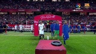 Sevilla 1 - FC Barcelona 2 (3 minutos)