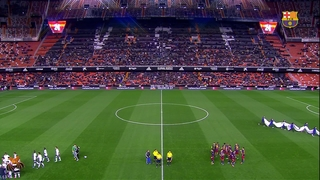 València CF 1 - FC Barcelona 1