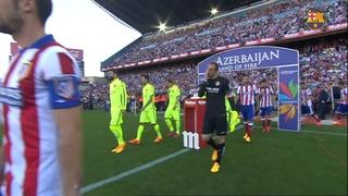 Atlético de Madrid 0 - FC Barcelona 1 (1 minute)