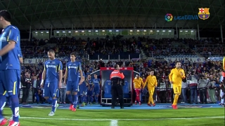 Getafe CF 0 - FC Barcelona 2 (3 minuts)