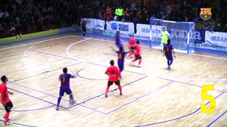 FCB Futsal: Best saves November 2016/2017