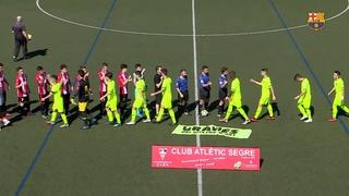 Atlètic Segre 2 - Juvenil B  0
