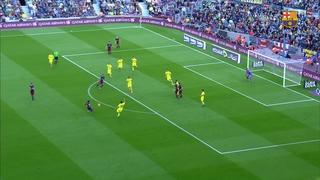 FC Barcelona 3 – Villarreal CF 0 (1 minuto)