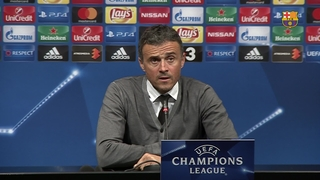 Luis Enrique says moving the ball quickly was key