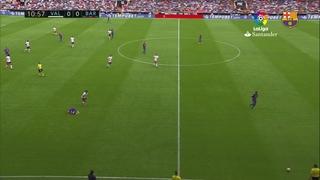 Valencia 2 - FC Barcelona 3 (1 minuto)