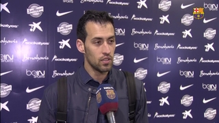 Busquets and Munir satisfied with win against Málaga