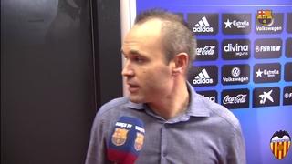 """Iniesta: """"Ens ha faltat tancar el partit"""""""