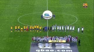 Real Sociedad 1 – FC Barcelona 0 (1 minute)