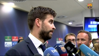 Players' post match reactions to reaching the Champions League final