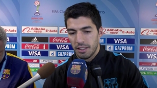 Hat-trick hero Luis Suárez praises team effort