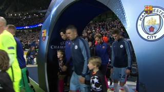 Manchester City 3 - FC Barcelona 1 (3 minutos)