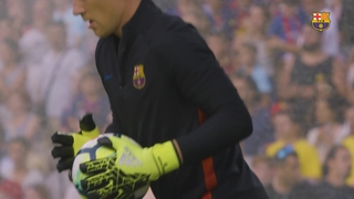 Ter Stegen steals the show in Lisbon