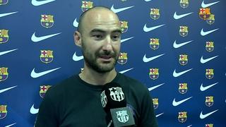 """Fran Sánchez: """"És un equip amb experiència a la Champions, hem d'anar en compte i no subestimar-lo"""""""