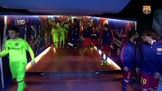 FC Barcelona 6 – Getafe CF 0 (3 minutes)