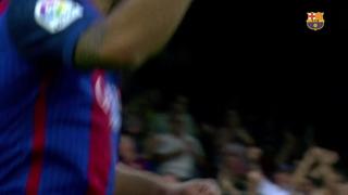 Musical els gols de Luis Suárez Díaz contra el Betis 2017/2018
