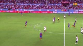 Sevilla FC 0 – FC Barcelona 2 (1 minuto)