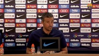 """Luis Enrique: """"Jugar contra el Celta sempre és un repte"""""""