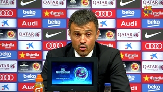Luis Enrique says key to game against Eibar was intensity