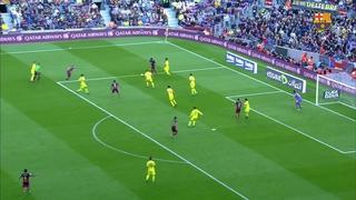 FC Barcelona 3 – Villarreal CF 0 (3 minutos)
