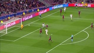 FC Barcelona 2 - Bayer Leverkusen 1 (1 minuto)